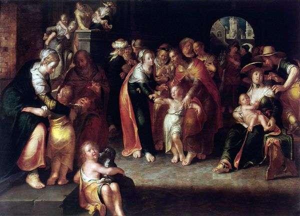 キリストと子供たち   ヨアヒム・アイテバル