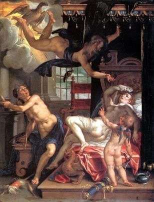 木星とダナエ   Joachim Eyteval