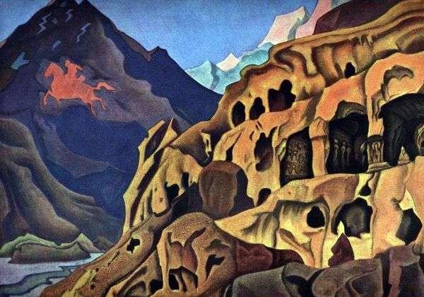 洞窟の力   ニコラス・レーリッヒ