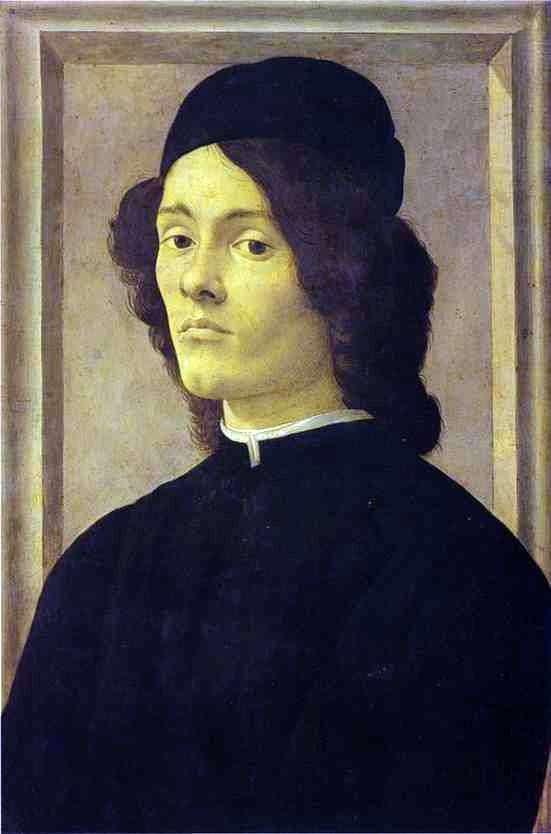 男の肖像   サンドロ・ボッティチェリ