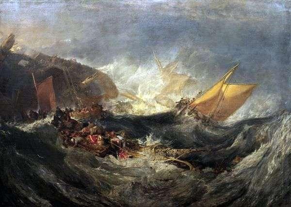 輸送船の残骸   ウィリアム・ターナー