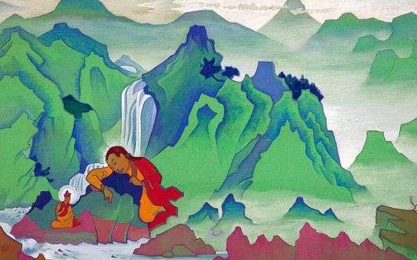 パドマ・サンブガヴァ   Nicholas Roerich