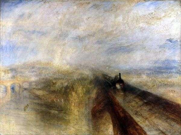 雨、蒸気そしてスピード。Great Western Railway   ウィリアムターナー