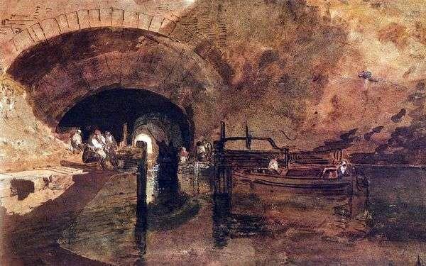 リーズ   William Turnerの近くのトンネルの運河