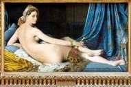 グレーターオダリスク   Jean Auguste Dominique Ingres