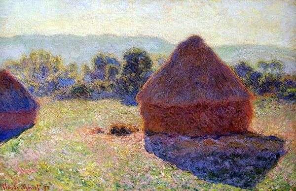 干し草の山   クロード・モネ