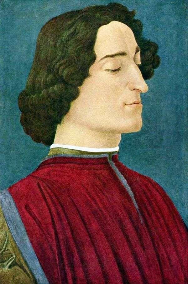 Giuliano Medici   Sandro Botticelliの肖像