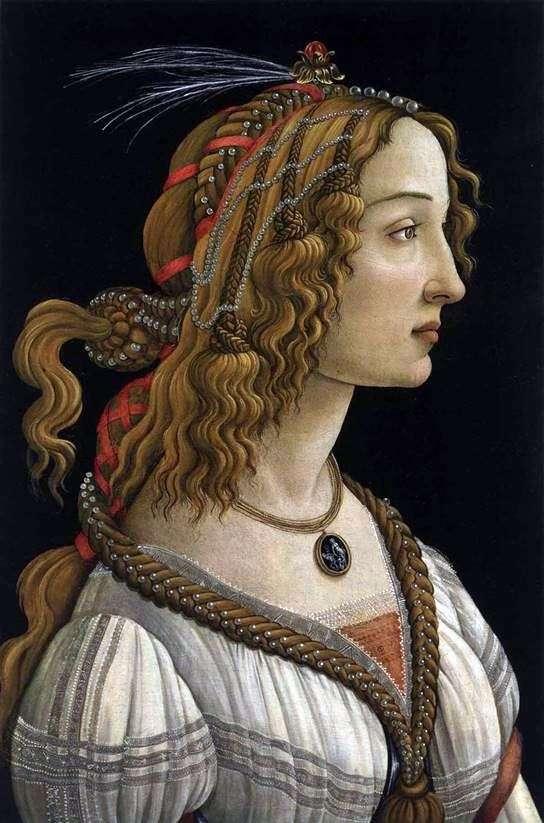 若い女性の肖像   Sandro Botticelli