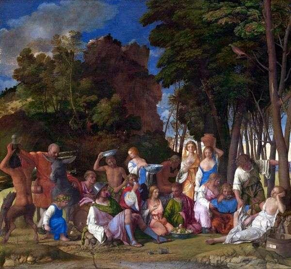 神々の饗宴   Titian Vecellio
