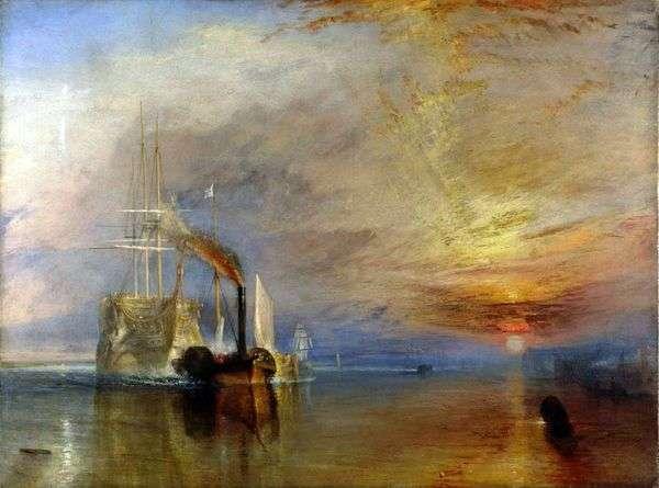 勇敢な船の最後の飛行   William Turner