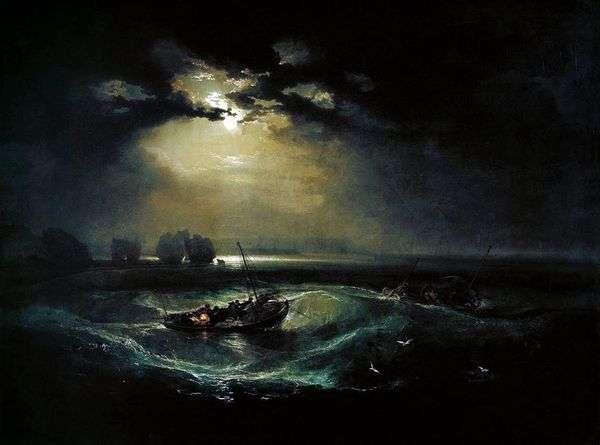 海の漁師   ウィリアムターナー