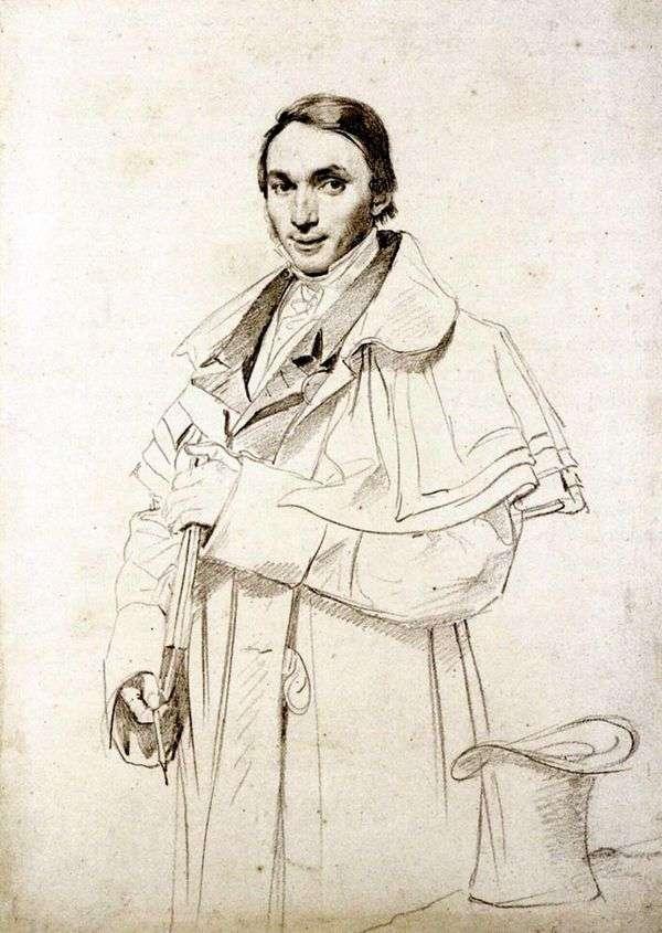 ミスターフォレスタの肖像   Jean Auguste Dominique Ingres