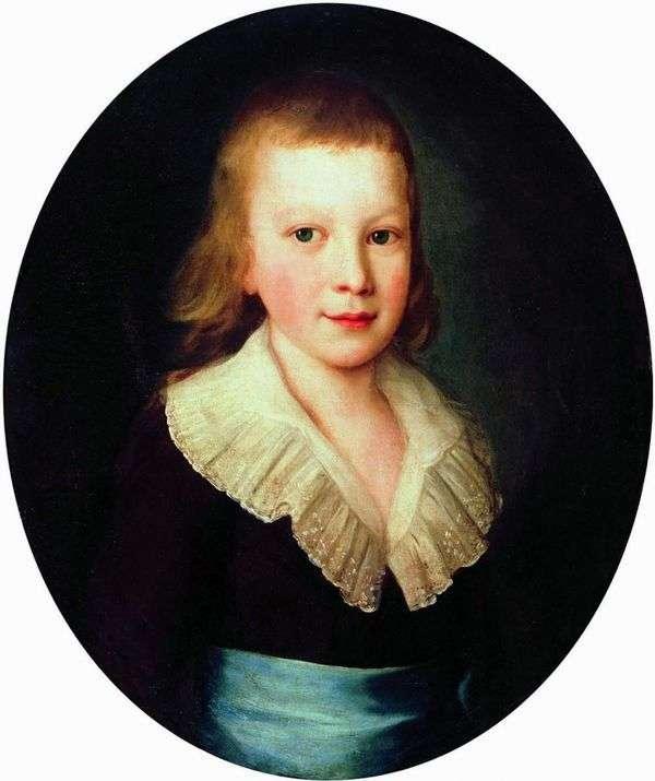 男の子の肖像   Peter Drozhdin