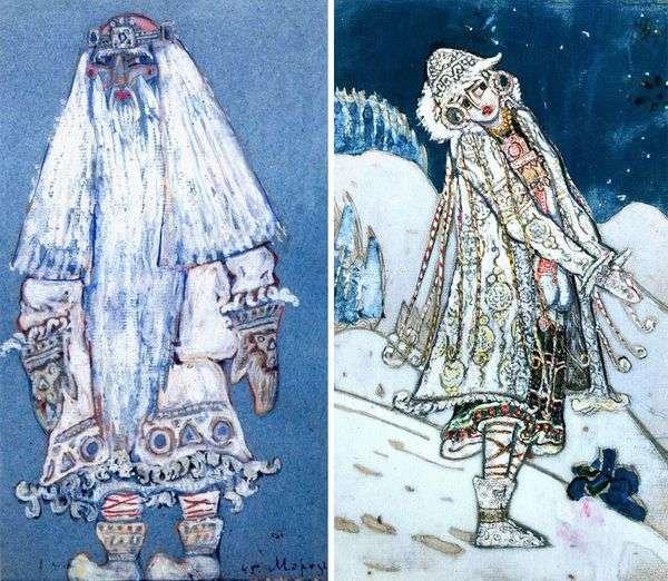 スノーメイデン   Nicholas Roerich