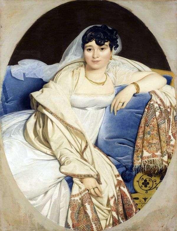 夫人リビエールの肖像   Jean Auguste Dominique Ingres