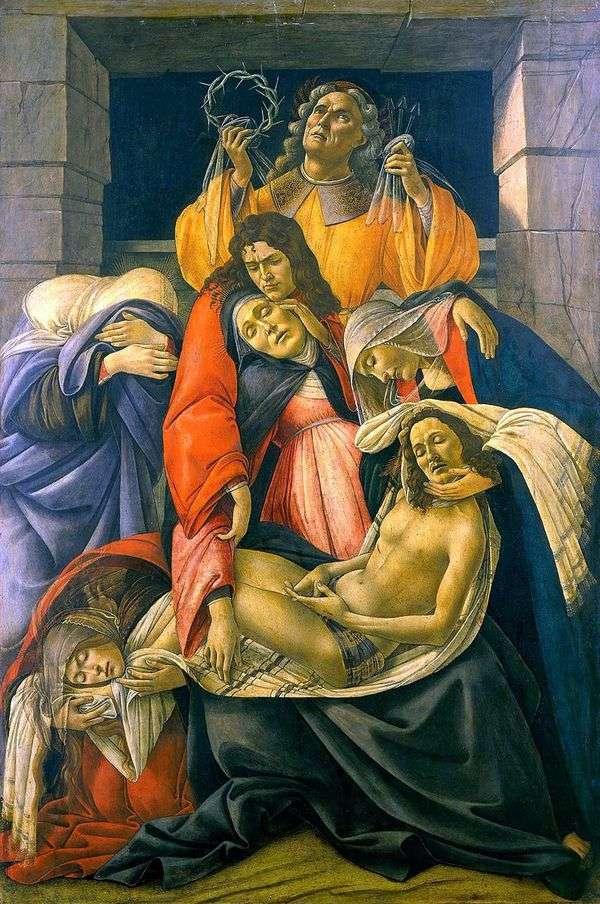 ピエタ(喪)   Sandro Botticelli