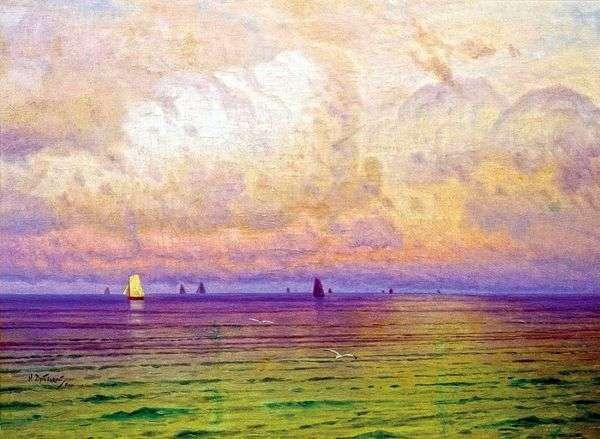 海 ヨット   ニコライ・ドゥボフスキー