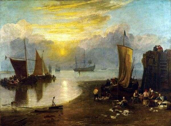 霧の中で昇る太陽   William Turner