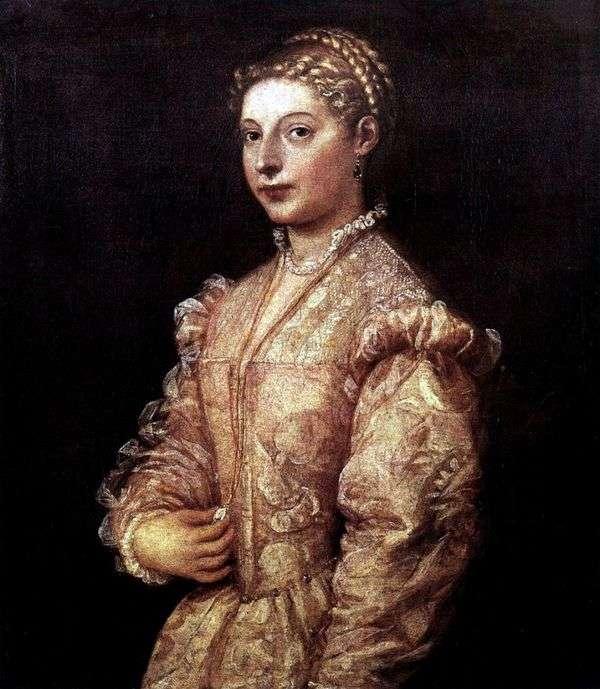 少女の肖像   Titian Vecellio