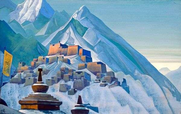 チベット ヒマラヤ   ニコラス・レーリッヒ
