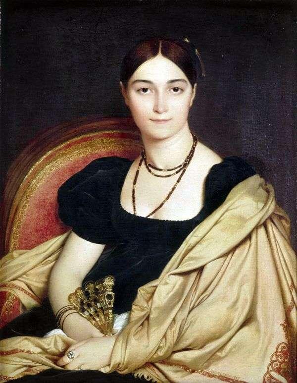 マダムデヴォスの肖像   Jean Auguste Dominique Ingres
