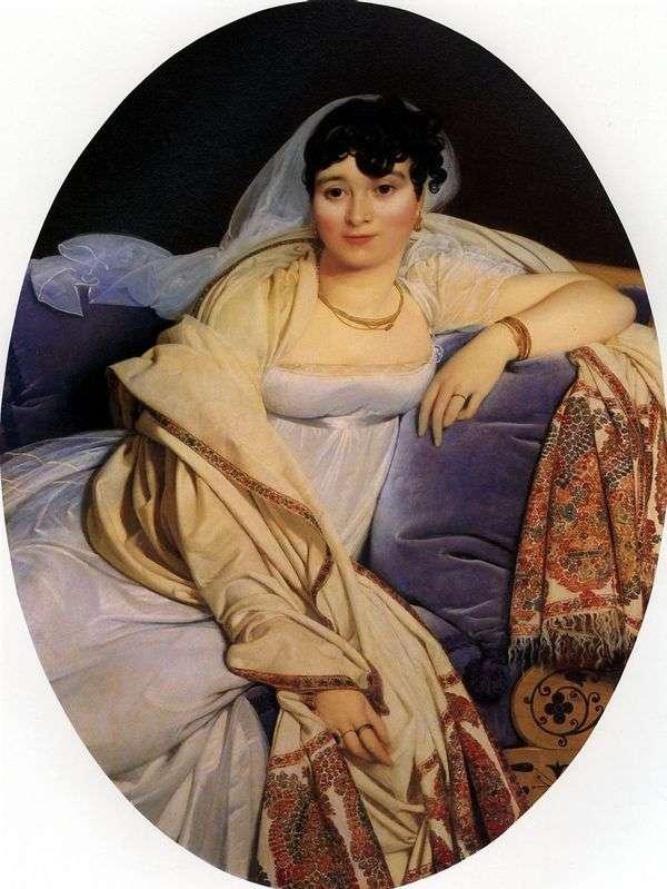 マダムリビエール   ジャンオーギュストドミニクアングルの肖像