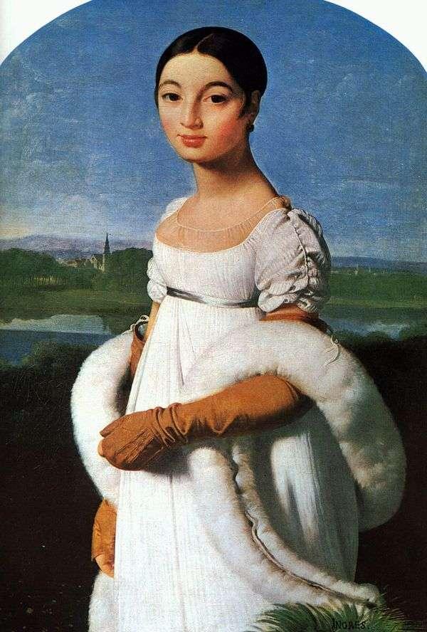 マドモアゼル・リヴィエール   Jean Auguste Dominique Ingresの肖像