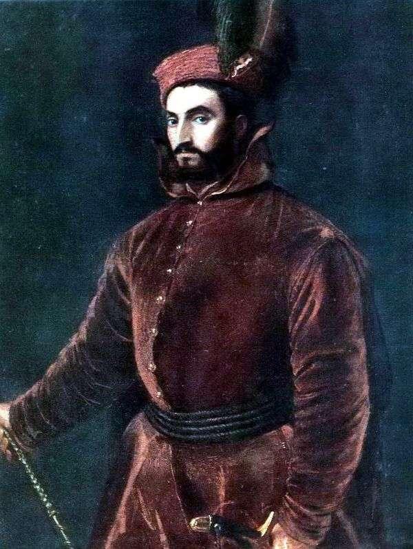 枢機卿Ippolito de Medici   Titian Vecellioの肖像