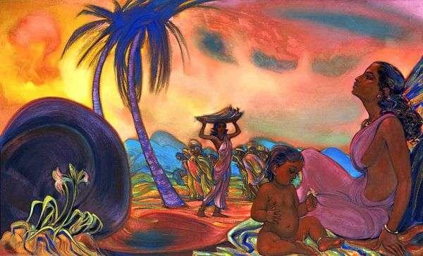 永遠の命   Svyatoslav Roerich