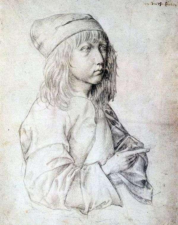1484セルフポートレート   Albrecht Durer