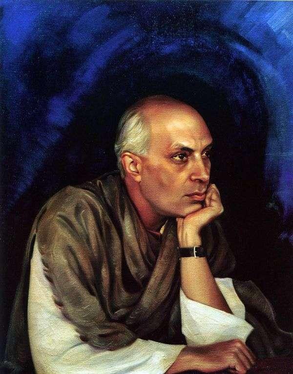 Pandit Jawaharlal Nehru   Svetoslav Roerich