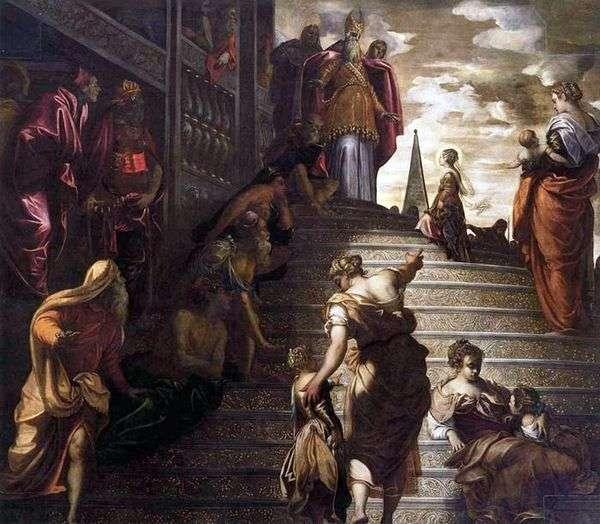 マリアの寺院紹介   Jacopo Tintoretto