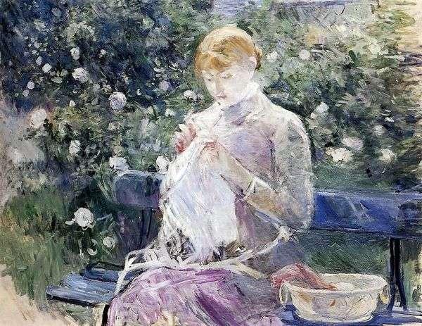 ミシン   Berthe Morisot