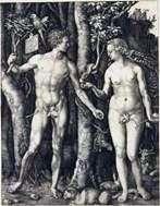 アダムとイブ(複合)   アルブレヒトデューラー