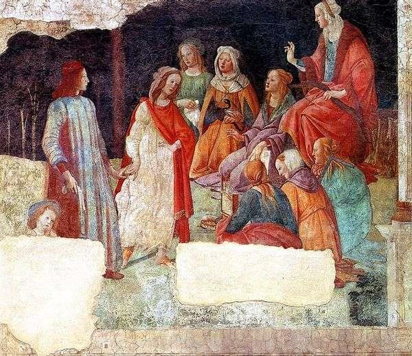 別荘Macherelliのフレスコ画。ロレンツォ・トルナブオーニと自由芸術 ...