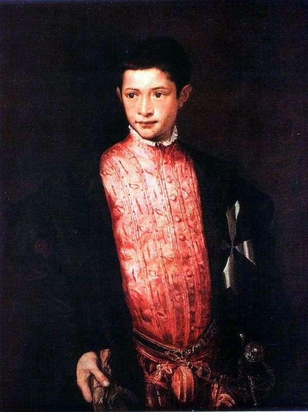 Ranuccio Farnese   Titian Vecellioの肖像