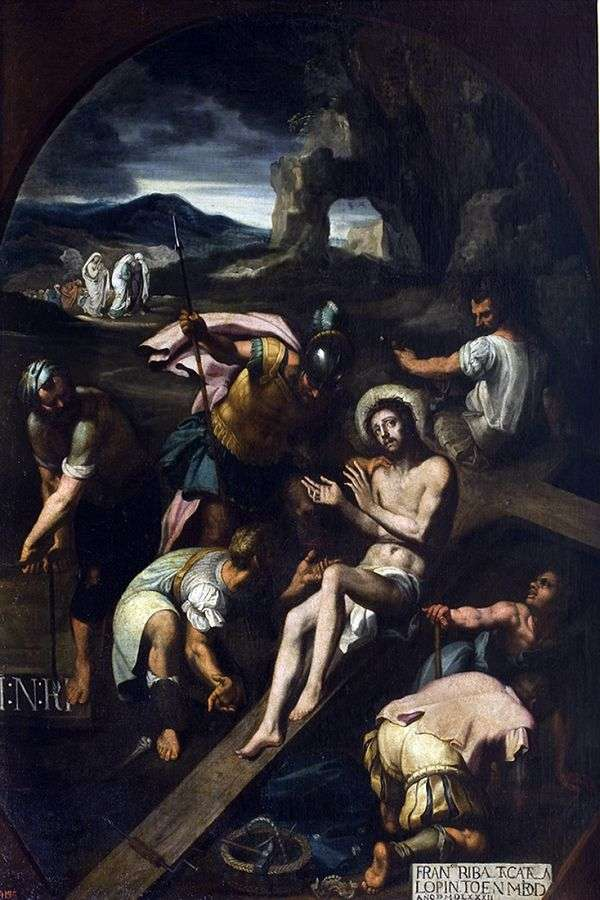 十字架に釘付け   Francisco Ribalta