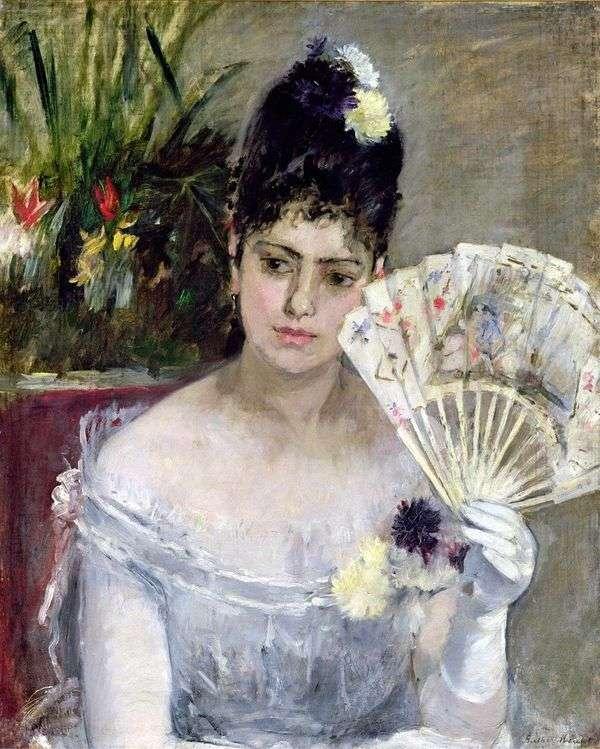 ボールで   Bertha Morisot