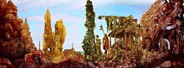 ヨーロッパの雨の後II   Max Ernst