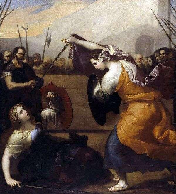 決闘Isabella de KarazziとDiambra de Pottiineau   リューベラのフセペ