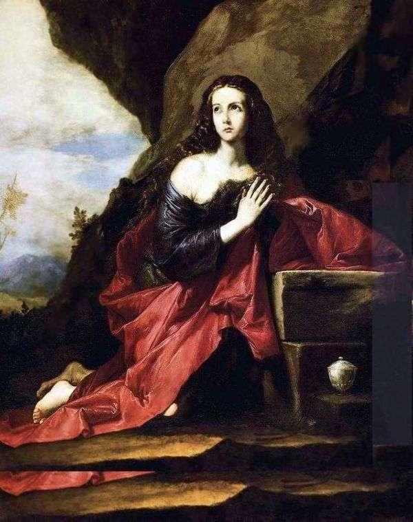 Penitent Mary Magdalen   フセペ・デ・リベーラ