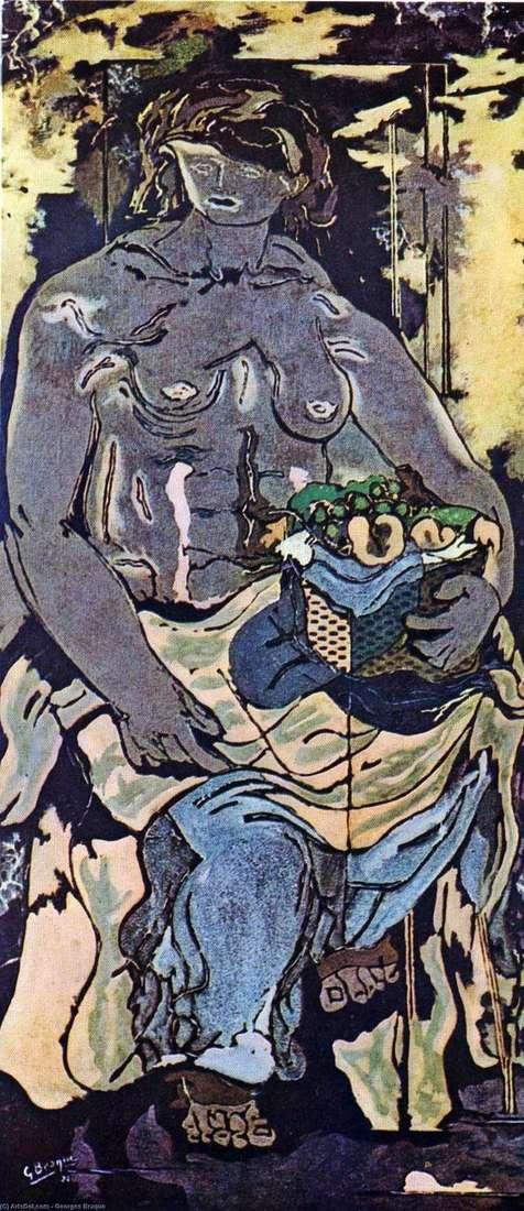 フルーツバスケット   Georges Braqueと裸の女性