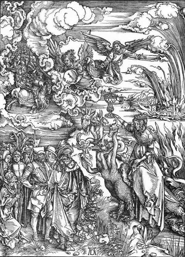バビロンの売春婦   Albrecht Durer