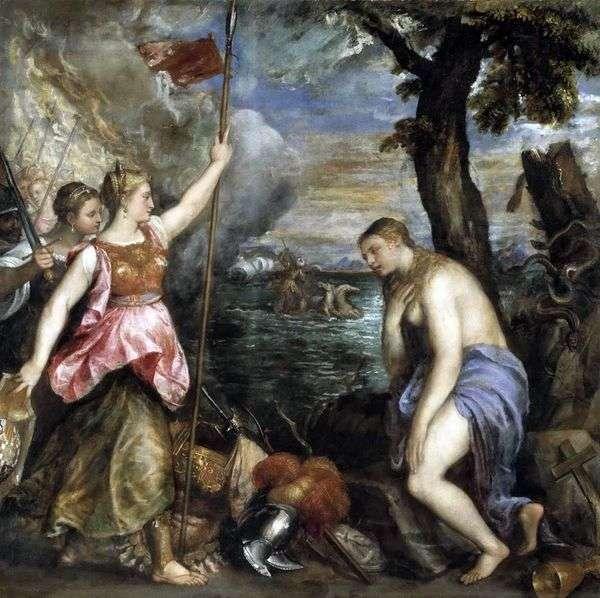スペインによる宗教   Titian Vecellio