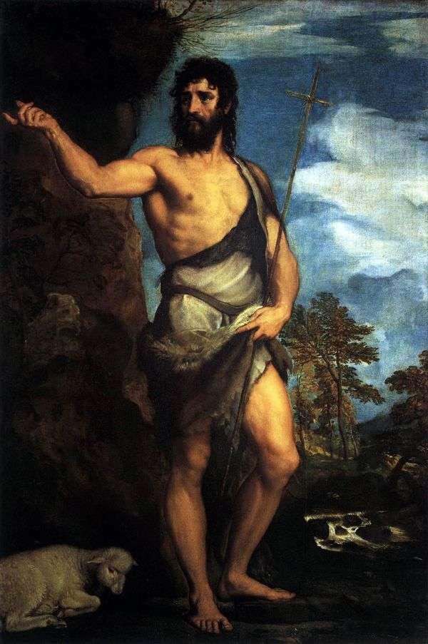 荒野の洗礼者聖ヨハネ   Titian Vecellio