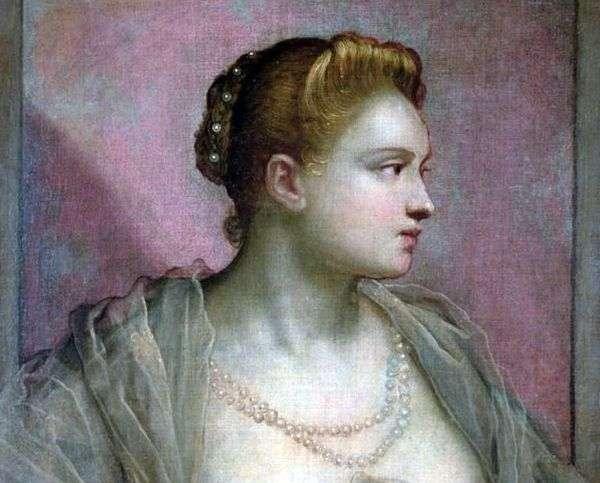若い女性の肖像   ヤコポ・ティントレット
