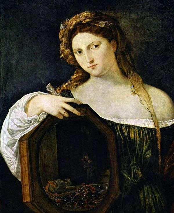 世俗的な愛   Titian Vecellio