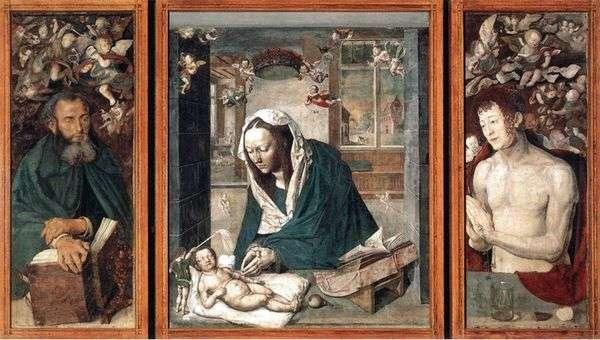 ドレスデンの祭壇   Albrecht Durer
