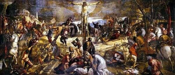 はりつけ(カルバリー)   Jacopo Tintoretto