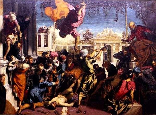 St. Markが奴隷を解放   Jacopo Tintoretto